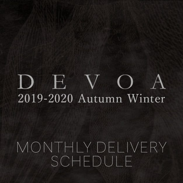 DEVOA 9-20AW Delivery and Arrival List