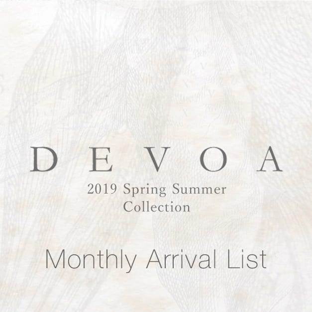 DEVOA 19SS Collection