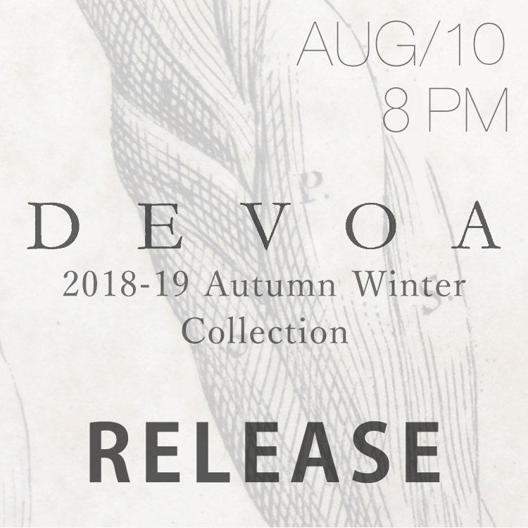 DEVOA 2018-19AW Collection