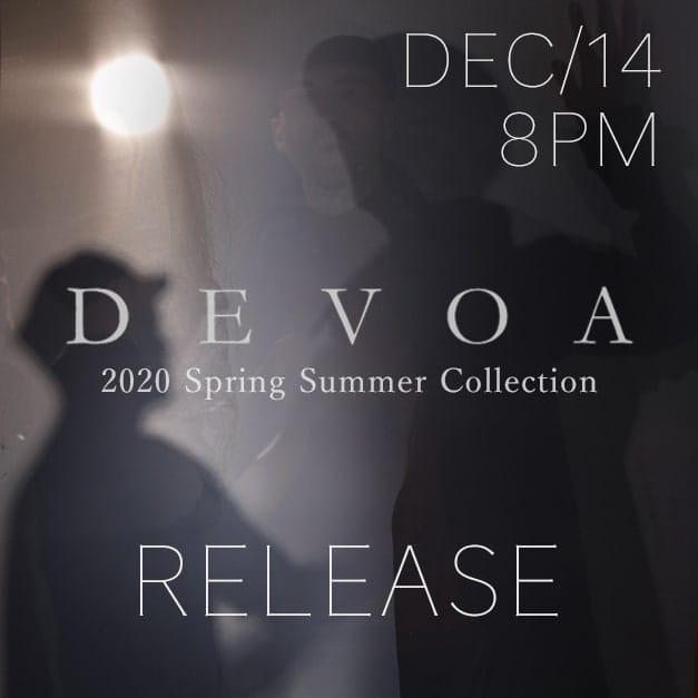 DEVOA 2020SS Release Notice