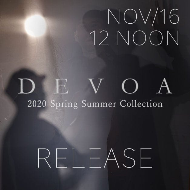 DEVOA Release Date Notice Releasing 16th November at 12 noon!