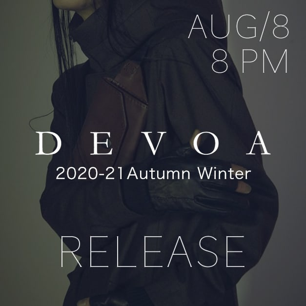 DEVOA 2020-21AW Collection Release Notice