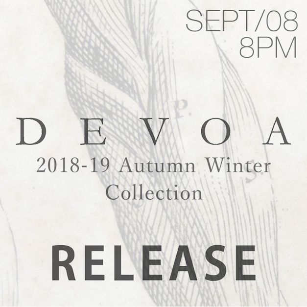 DEVOA. 18-19AW collection