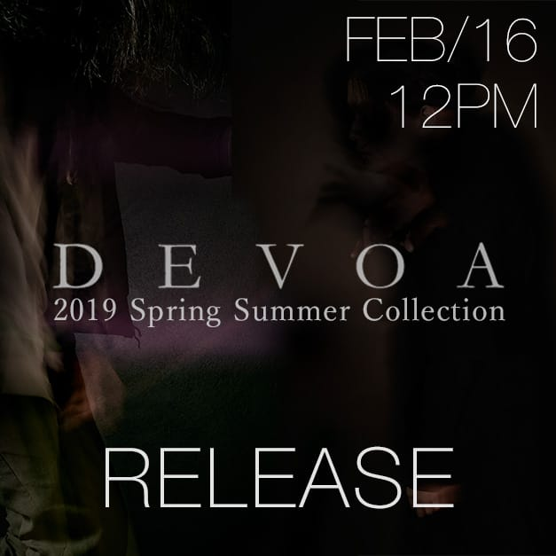 DEVOA 2019SS collection