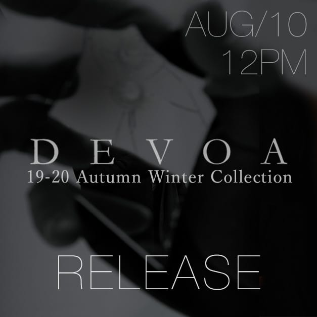 Yohji Yamamoto Release Notice