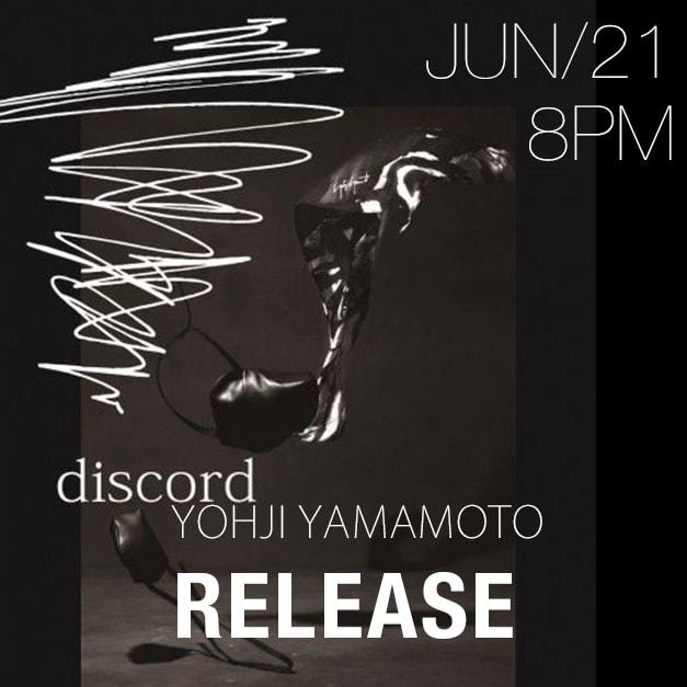 Discord Yohji Yamamoto 2018-19AW collection
