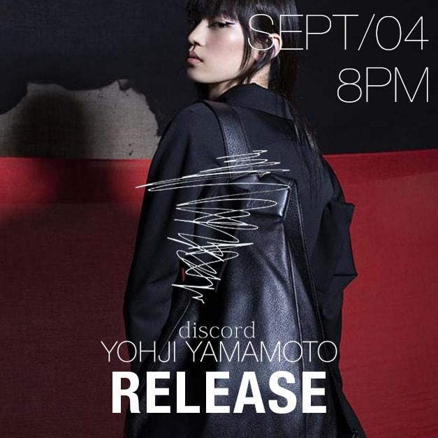 Discord Yohji Yamamoto 18-19 AW