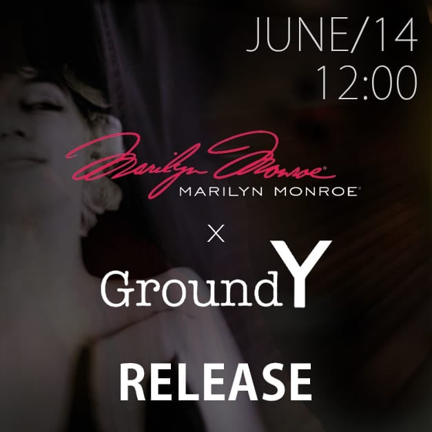 Ground Y× Marilyn Monroe 14th June 12 Noon