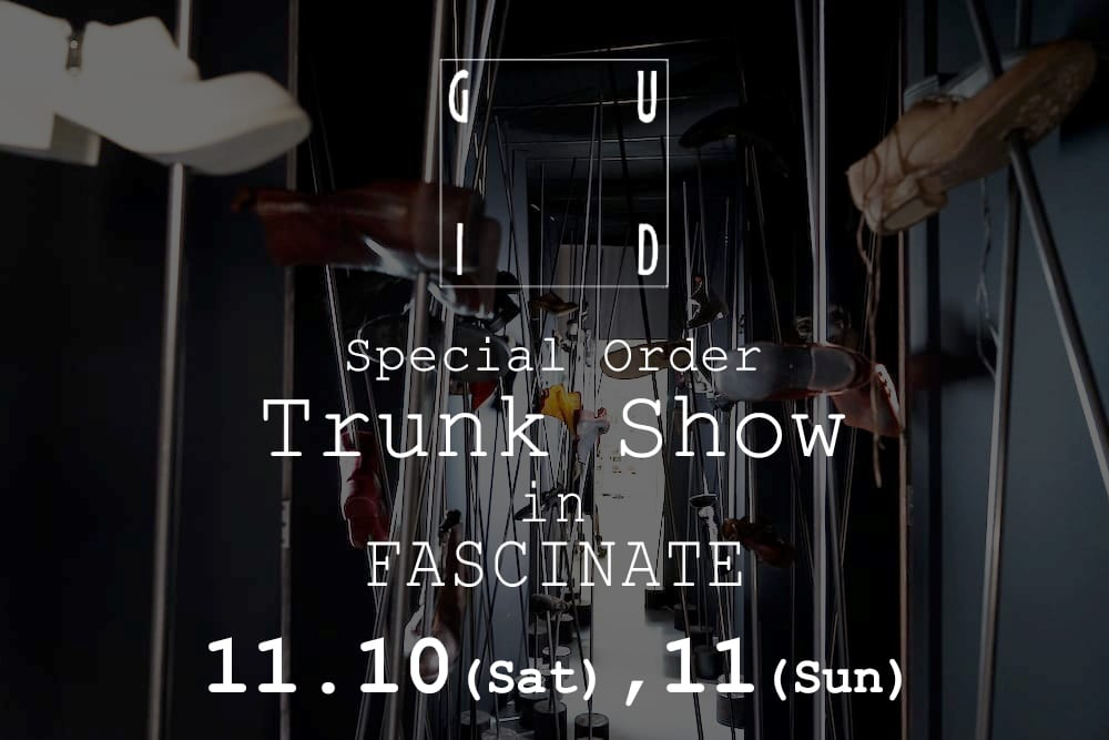 GUIDI Trunk Show in FASCINATE