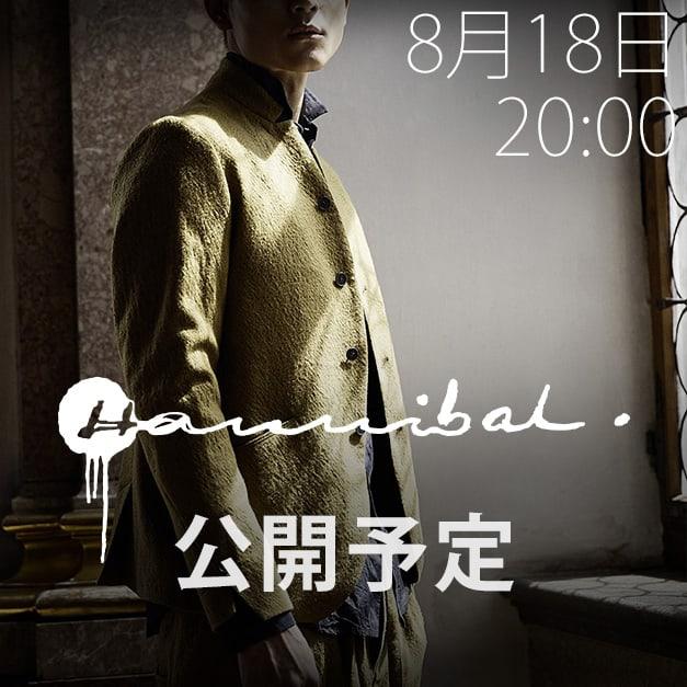 hannibal. 18-19AW(秋冬) コレクション