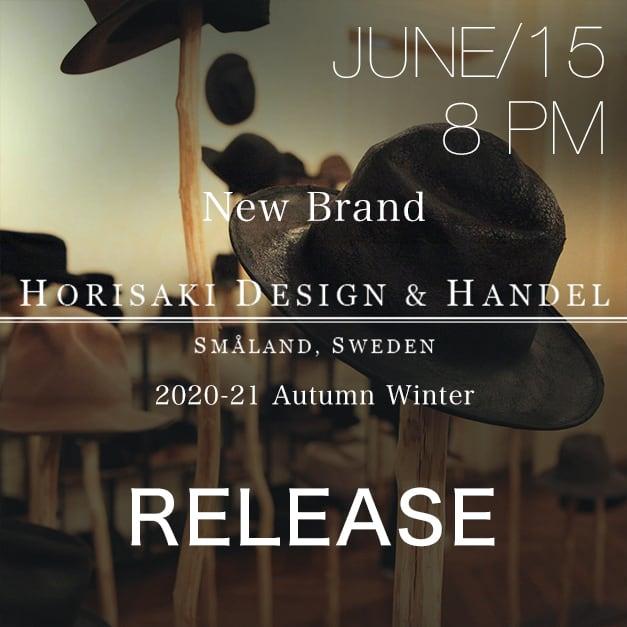 New Brand「HORISAKI」Release Notice