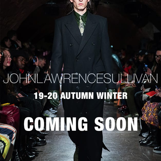JOHN LAWRENCE SULLIVAN 19-20AW collection