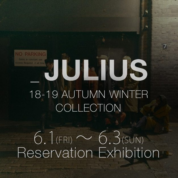 julius 2018-19 AW Collection