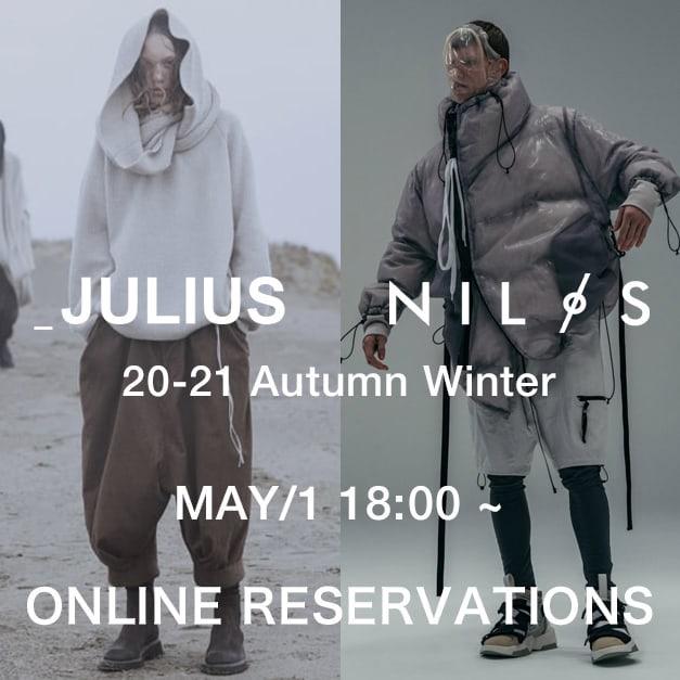 JULIUS & NILøS 20-21aw Online Reservations