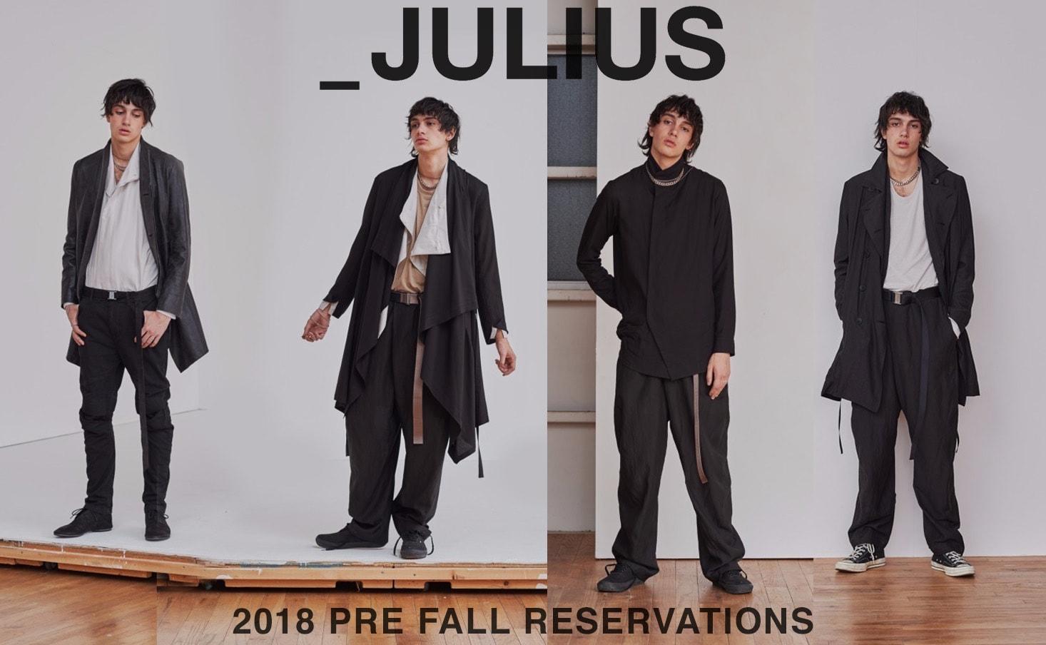 julius(ユリウス)_pre_fall_pre_order