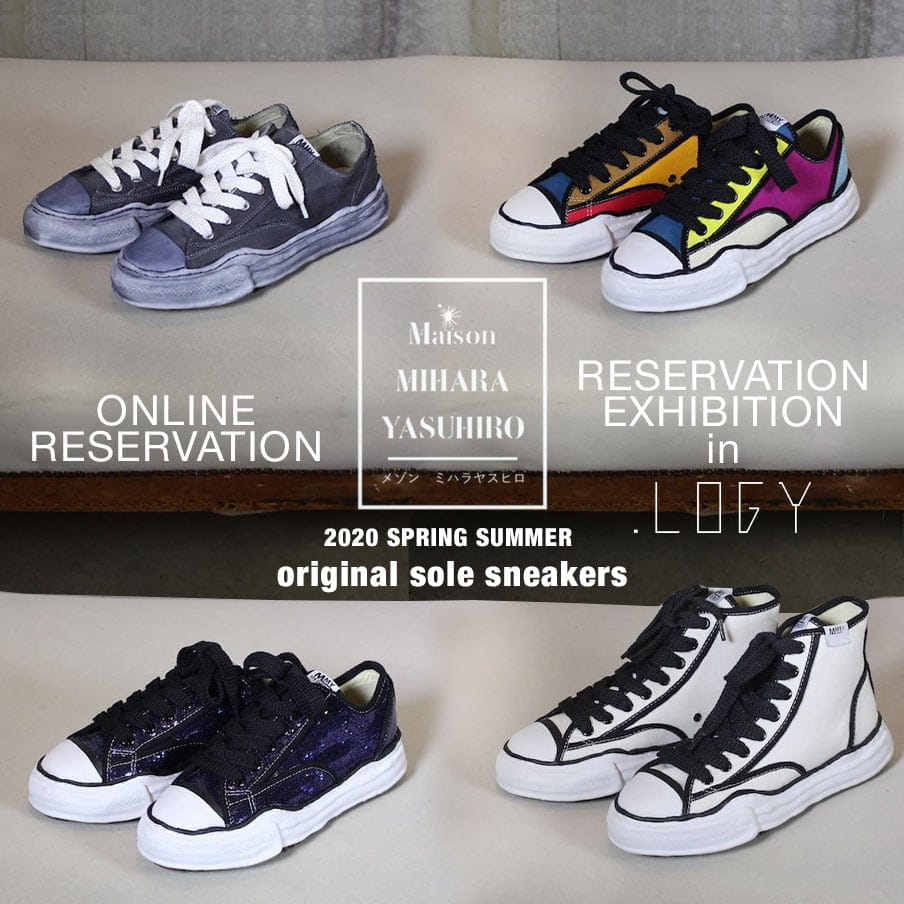 20SS Maison MIHARAYASUHIRO Original Sole SneakersReservation Exhibition and Online Reservations
