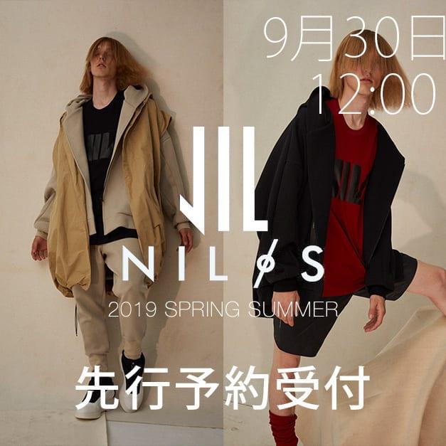 NILøS 19SS(春夏) 先行予約
