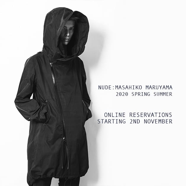 nude:masahiko maruyama 2020SS Online Reservation