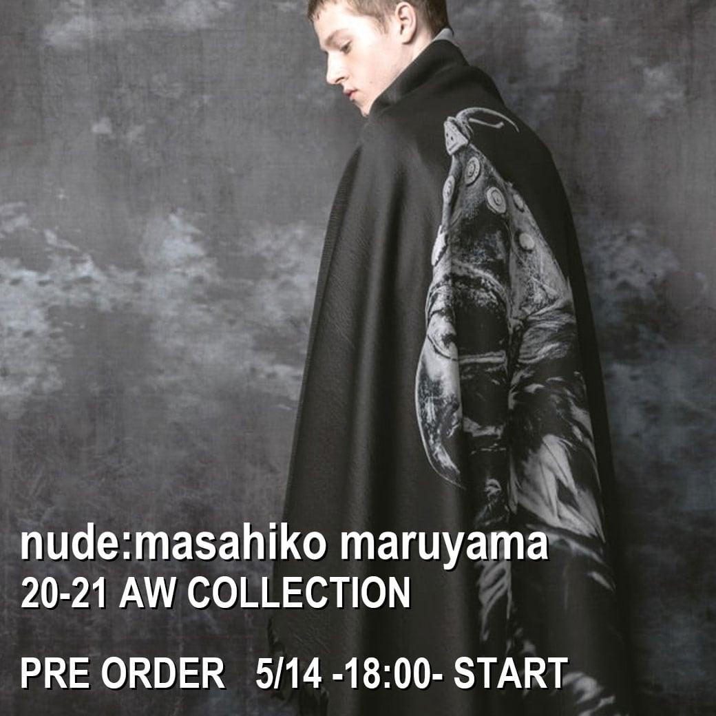 nude : masahiko maruyama 先行予約 5月14日 午後 18時受付開始!