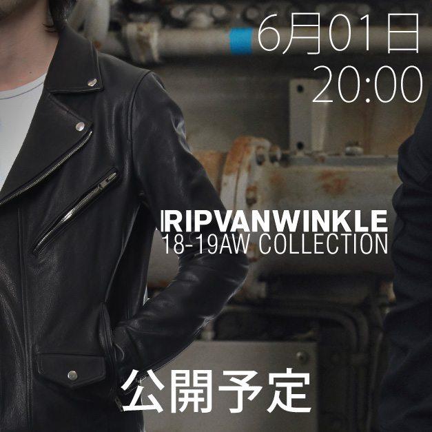 RIPVANWINKLE(リップヴァンウィンクル)2018-19 AW コレクション