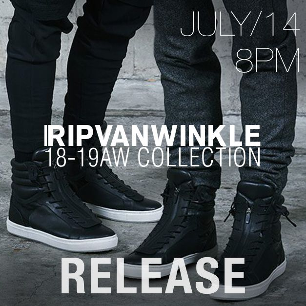 RIPVANWINKLE 2018-19AW collection