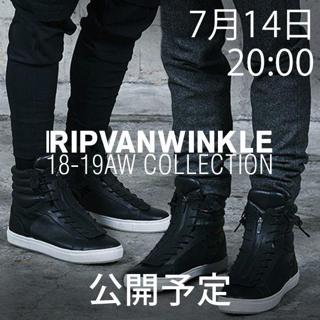 RIPVANWINKLE リップヴァンウィンクル2018-19AW(秋冬)コレクション