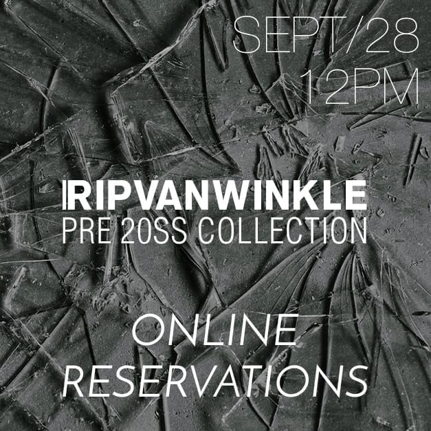 RIPVANWINKLE Reservation Release Date Notice