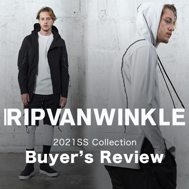 RIPVANWINKLE 21SS(春夏) コレクションレビュー