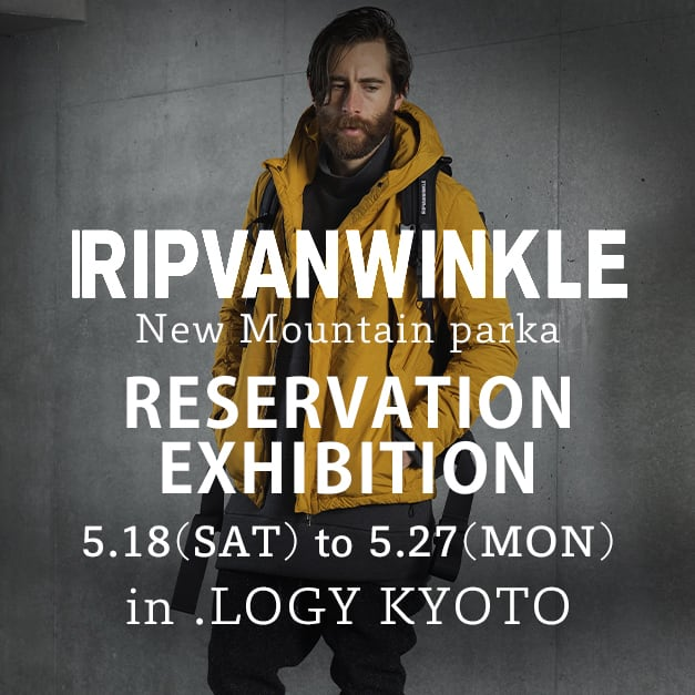 RIPVANWINKLE NEW MOUNTAIN PARKA Reservations Exhibition