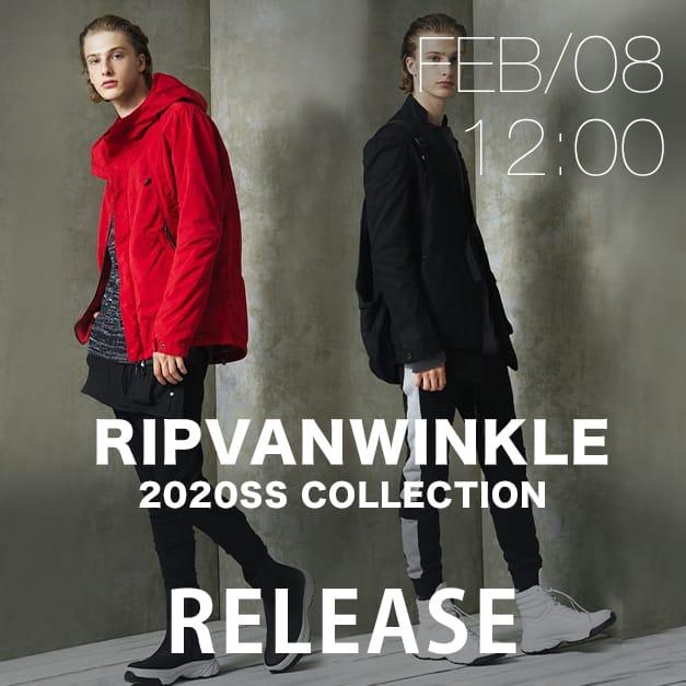 RIPVANWINKLE 2020SS Release Date Notice