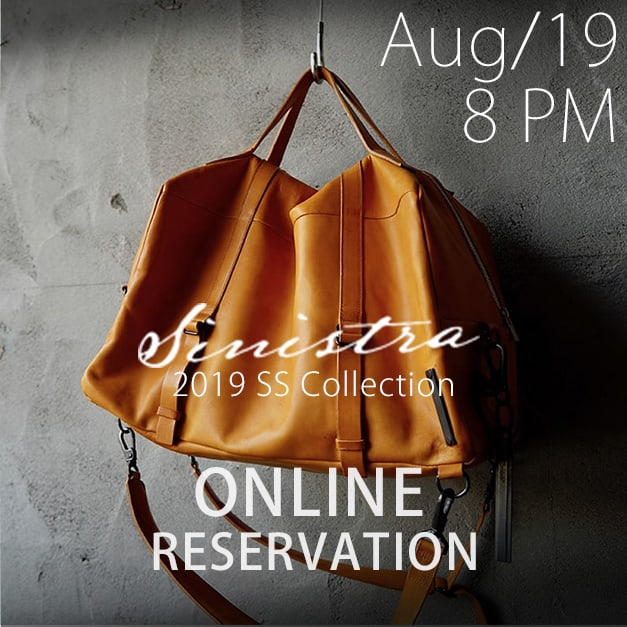 sinistra 2019ss Online Reservations