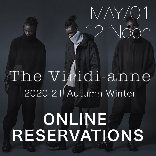 The Viriid-anne 20-21aw Online Reservations