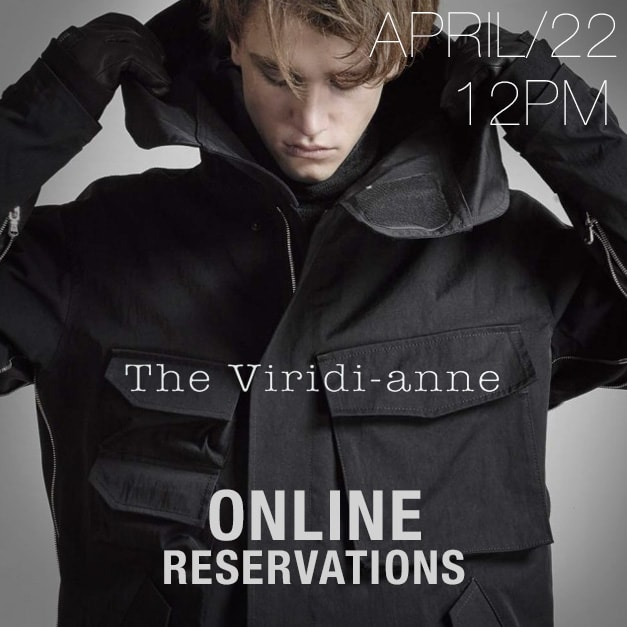 the viridi-anne 18-19aw online reservation