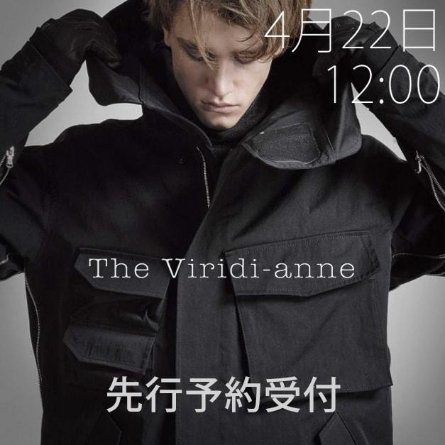 the viridi-anne (ザヴィリジアン)18-19aw 先行予約受付