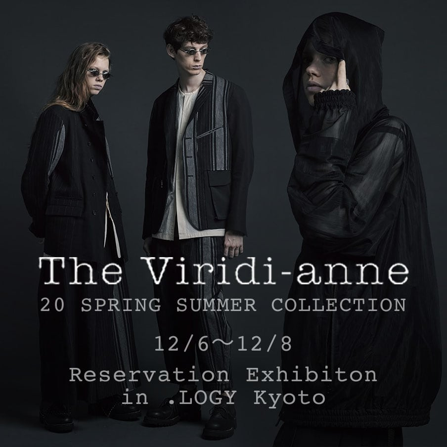 The Viridi-anne 2020SS Reservation Exhibition Notice!