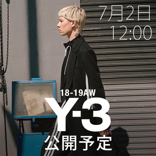 Y-3(ワイスリー) 2018-19AW(秋冬)コレクション