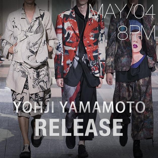 yohji yamamoto ss18 release date