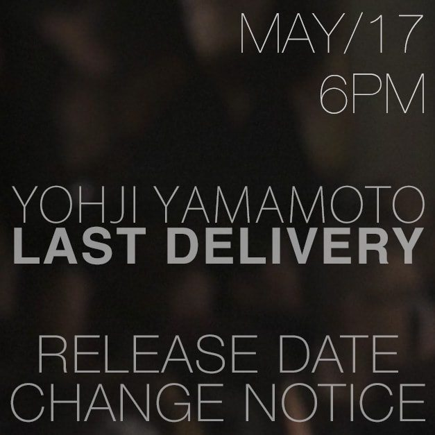 Yohji Yamamoto New ERA Collaboration 18SS collection release