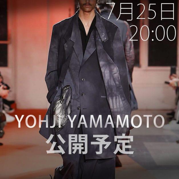 Yohji Yamamoto(ヨウジヤマモト)2018-19AW(秋冬)コレクション