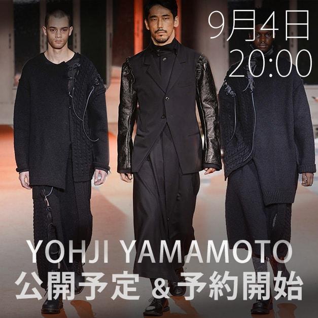 Yohji Yamamoto(ヨウジヤマモト)18-19AW(秋冬) コレクション