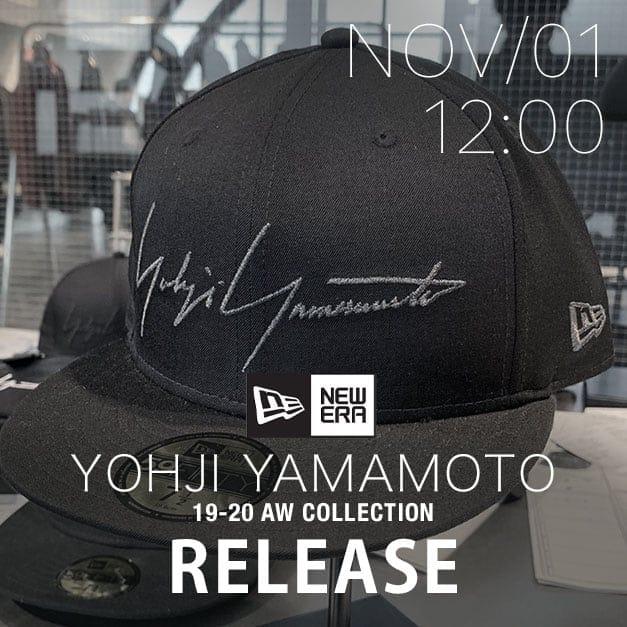 Yohji Yamamoto x NEW ERA Release Date Notice
