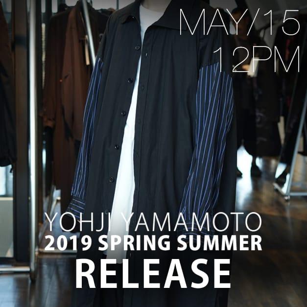 Yohji yamamoto 19SS MAY 15 Release