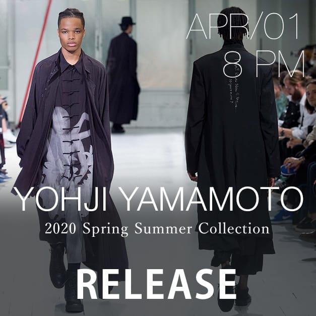 Yohji Yamamoto and B YY Release Date Notice