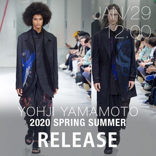 Yohji Yamamoto Release Date Notice