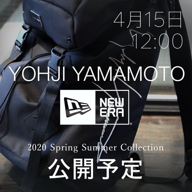 Yohji Yamamoto × New Era 4月15日正午12時から販売開始