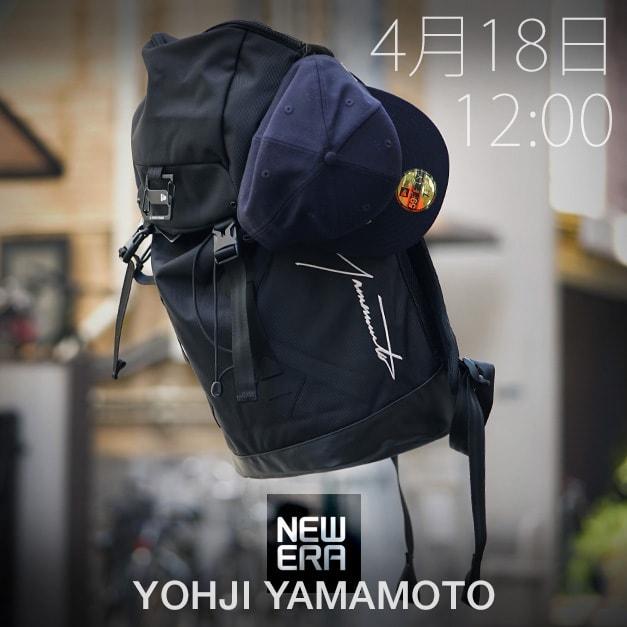 Yohji Yamamoto(ヨウジヤマモト) New ERA(ニューエラ) コラボレーション 18SS コレクション