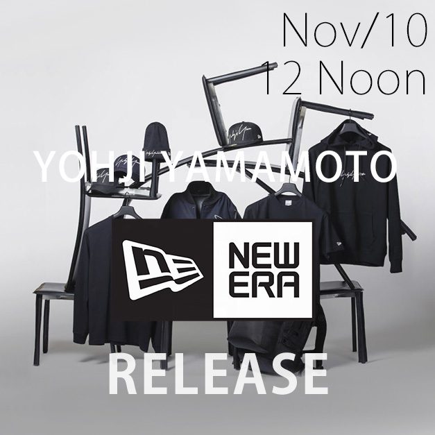 Yohji Yamamoto × New Era 18-19AW collection