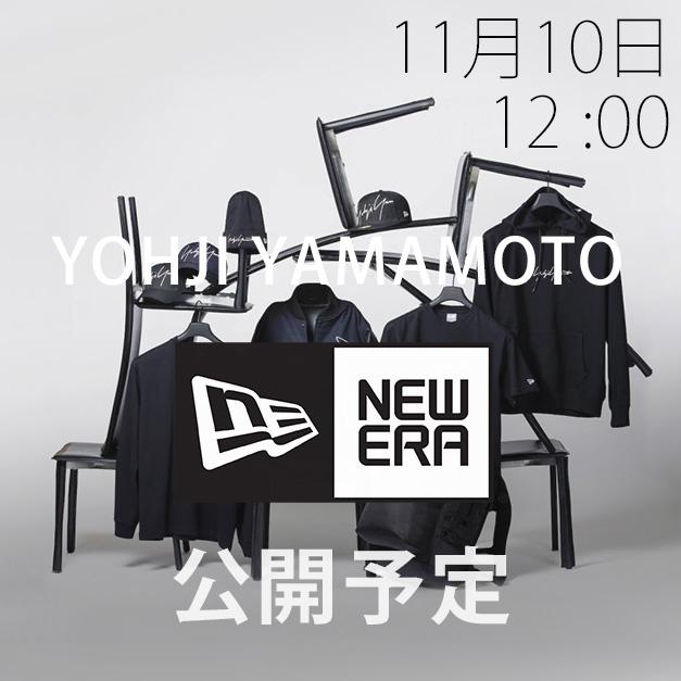 Yohji Yamamoto × New Era 18-19AW コレクション