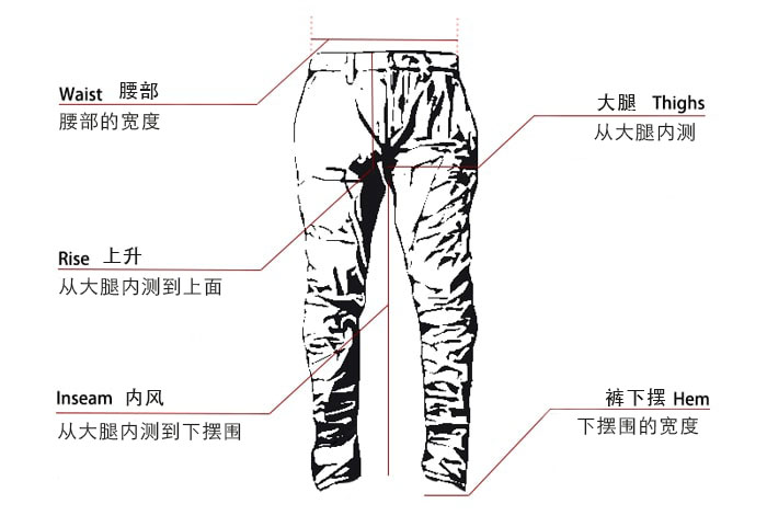 How to Measure Pants and Trousers