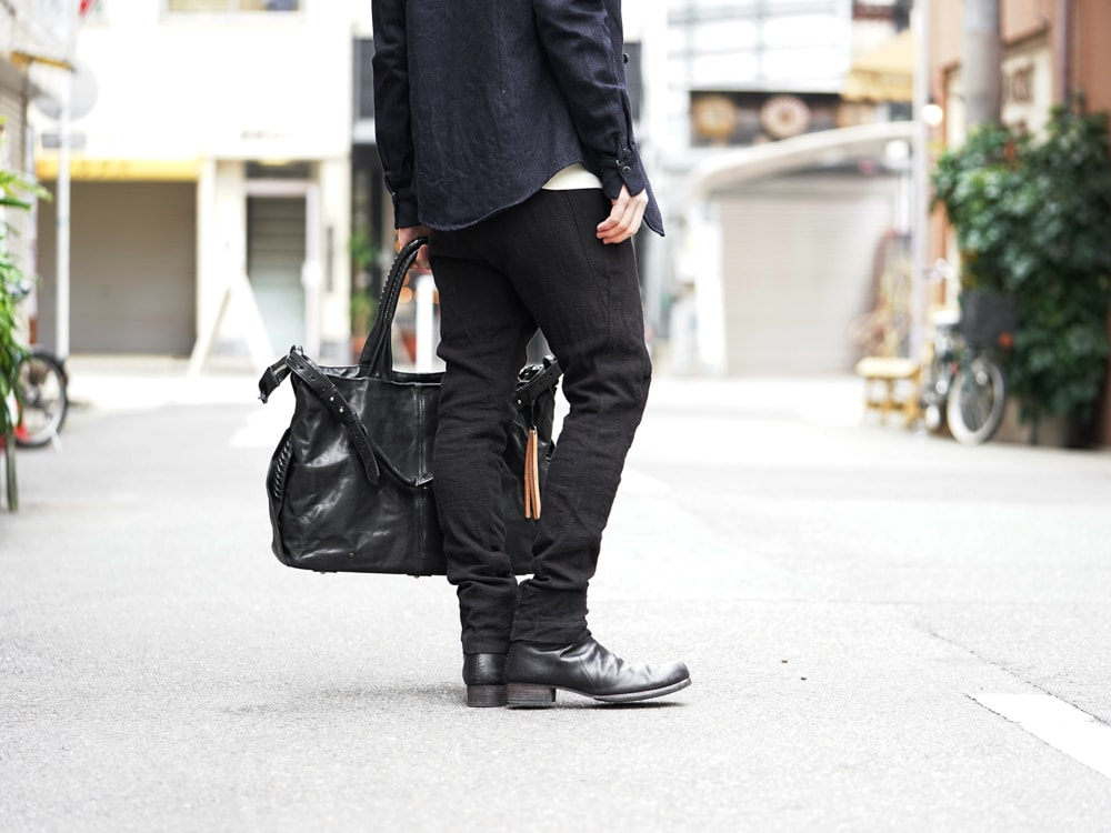 DEVOA 17SS High Neck Jacket GUIDI Calf Leather  08